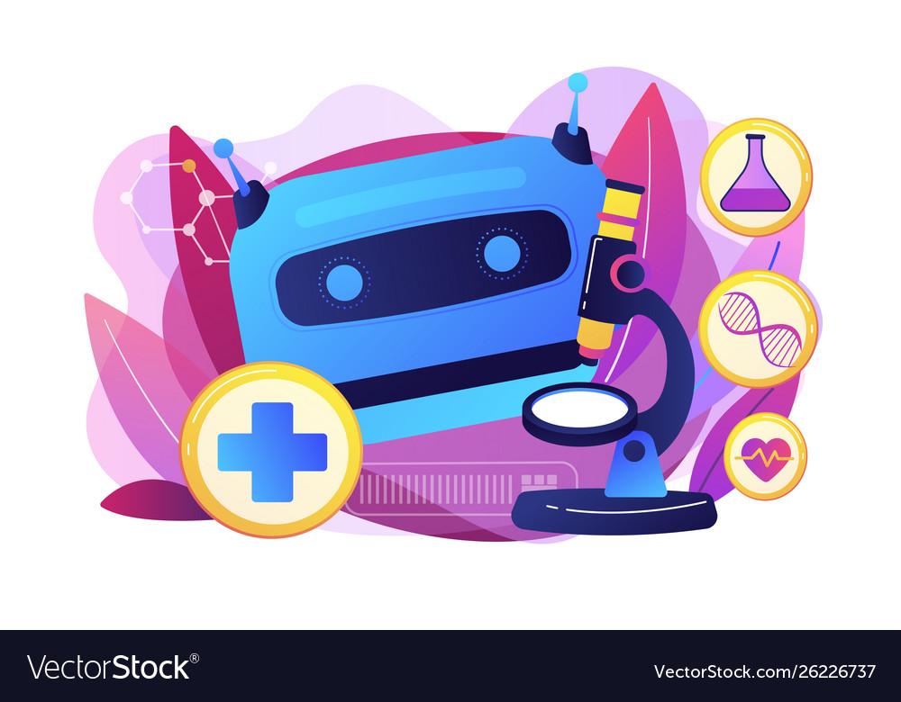 Ai use in healthcare concept