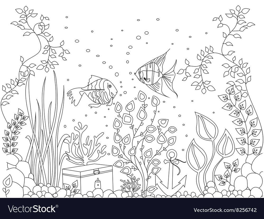 Coloring seabed fish