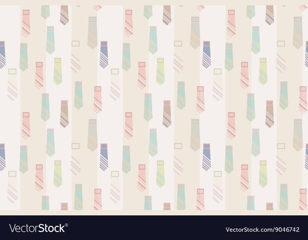 Necktie seamless pattern background
