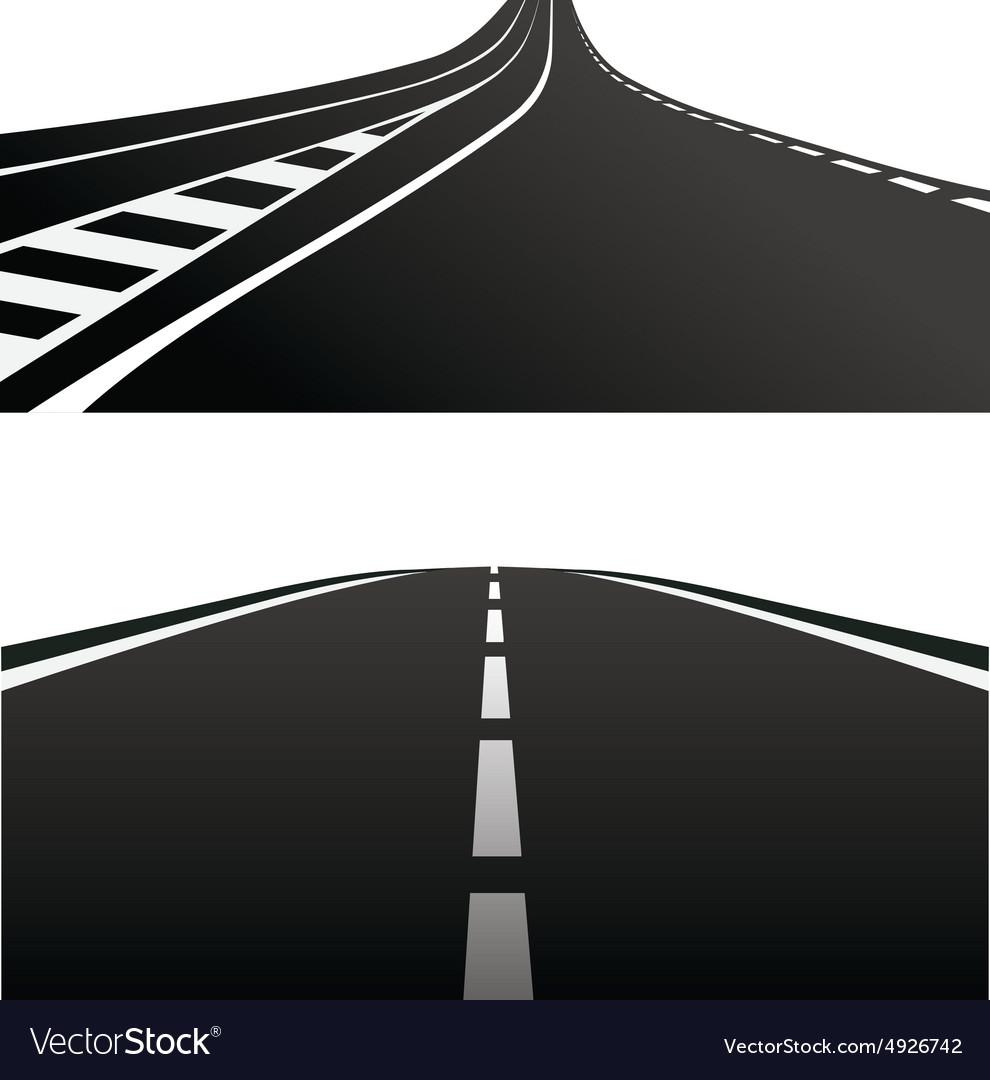 Дорога на картинке как символ