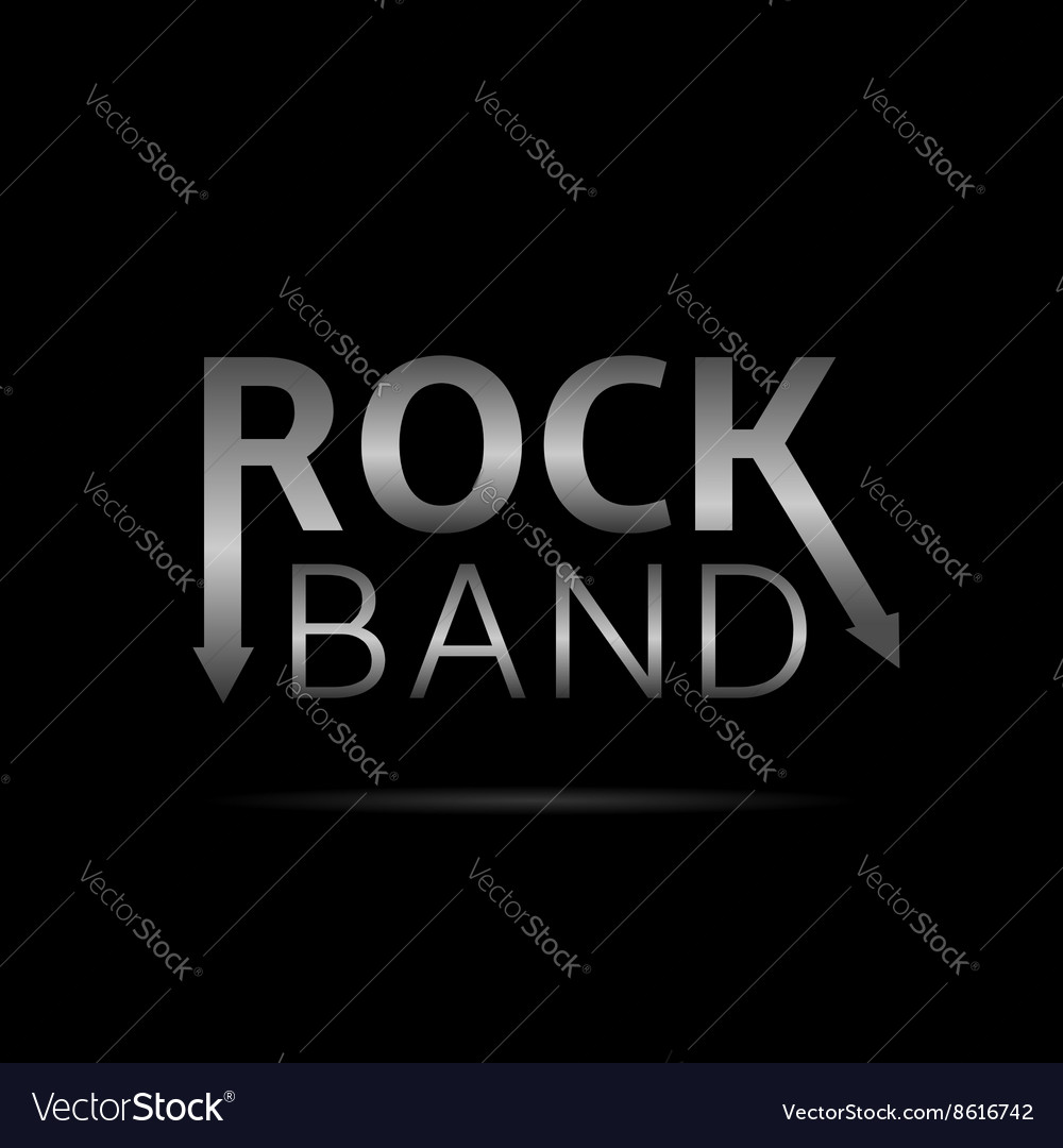 Rock band text