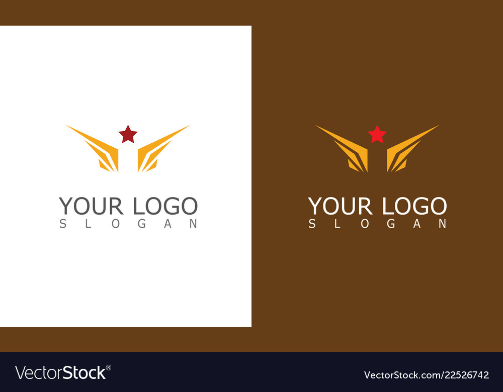 Wing star logo