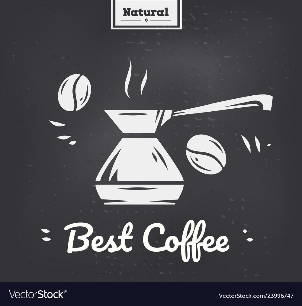 Have a nice day take a coffee poster silhouette