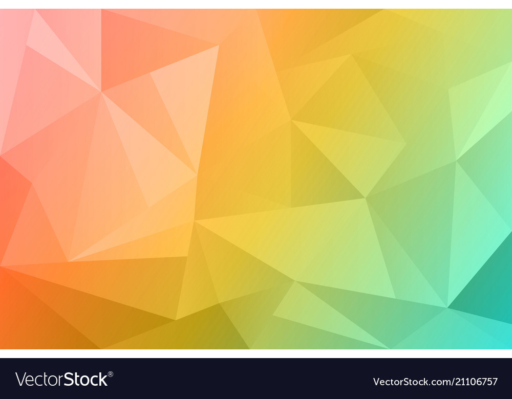 Abstract summer polygonal background spring