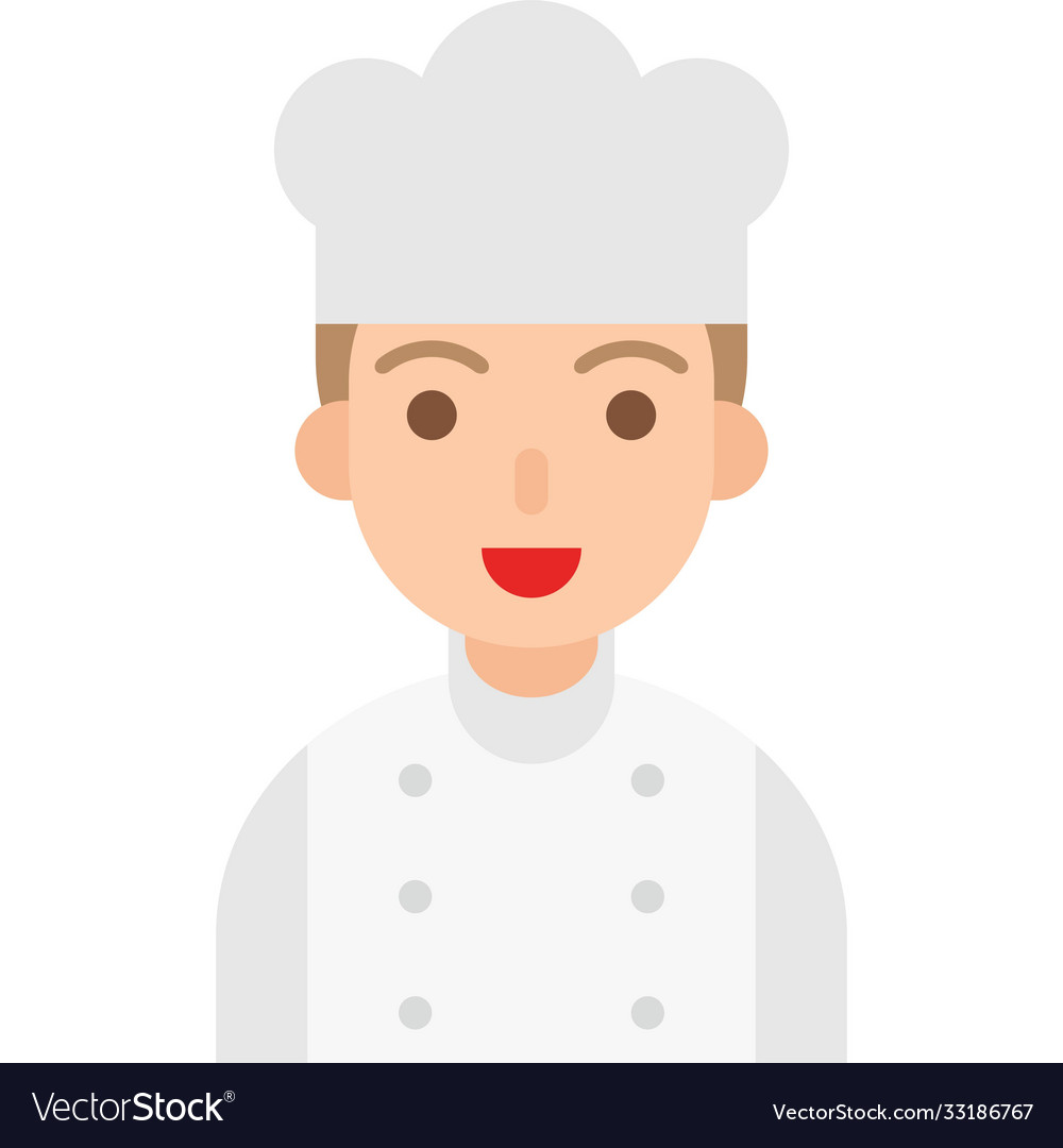 Chef icon profession and job