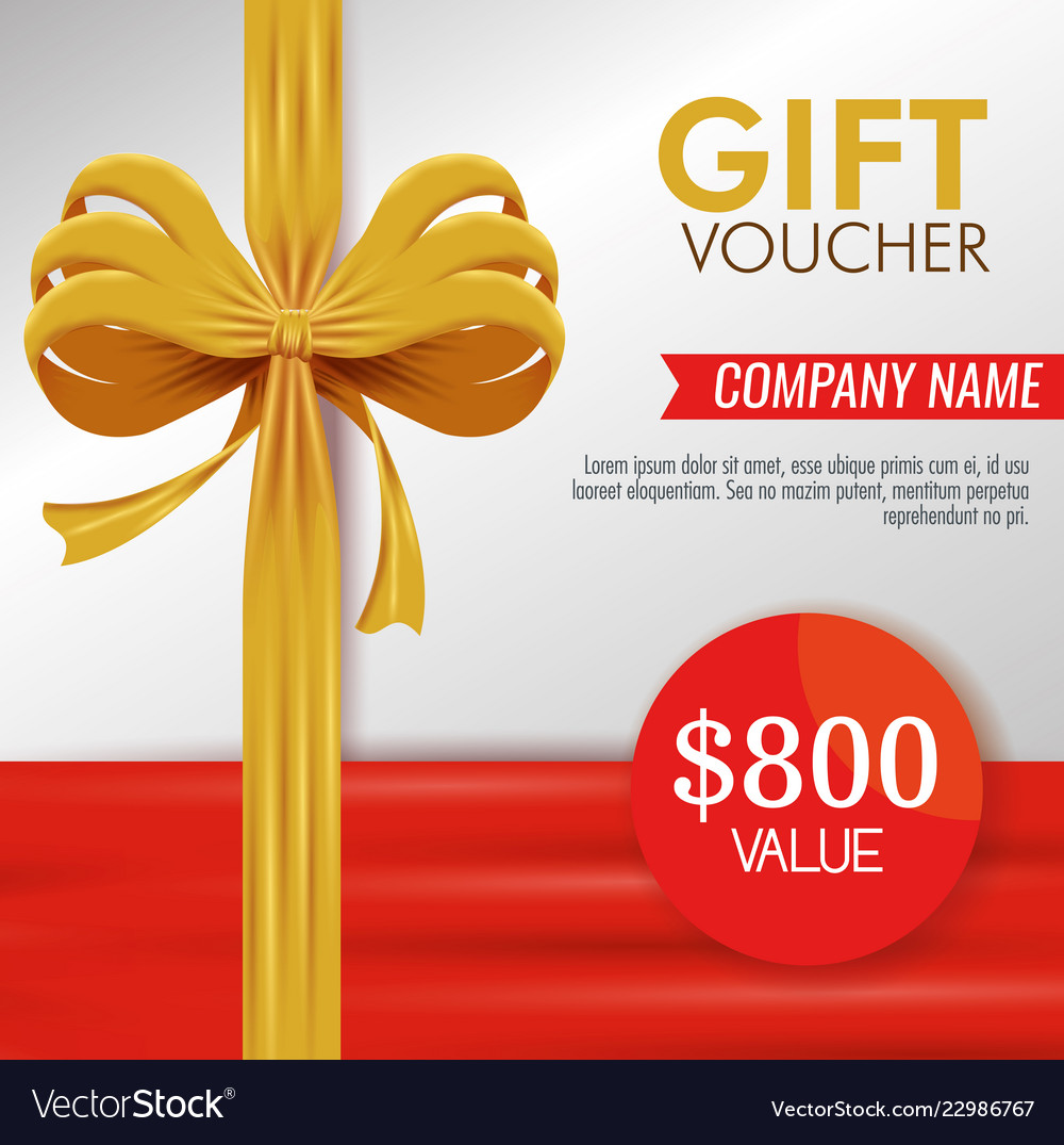 Gift Coupon Discount Special Promotion Royalty Free Vector