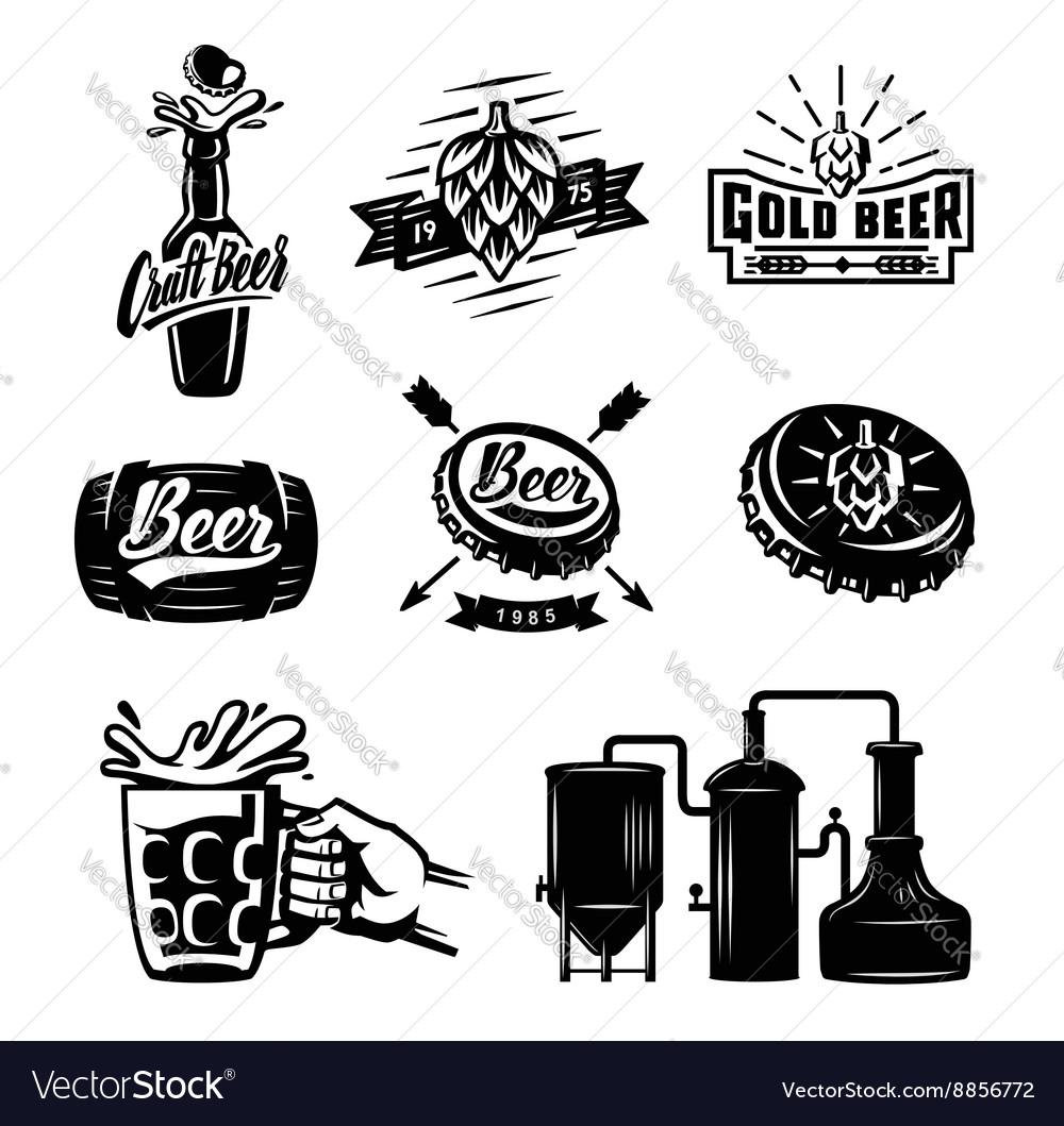 Beer badges