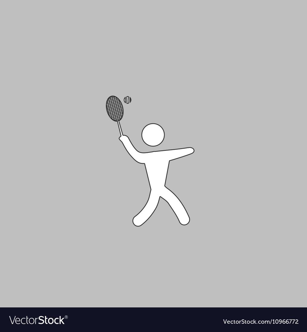 Tennis computer symbol