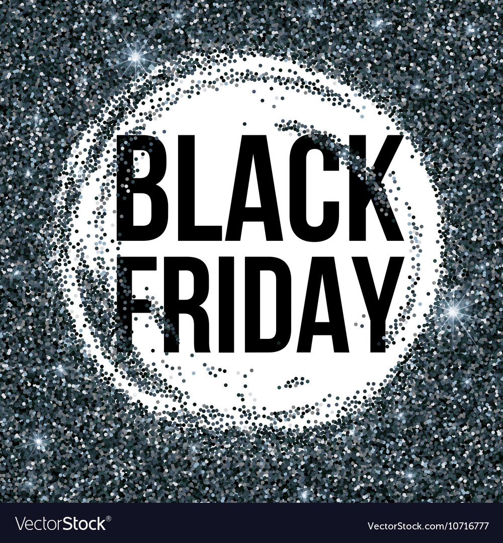 Black Friday sale lettering background Template