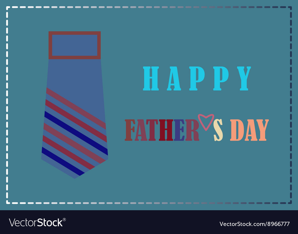 Fathers day design card background