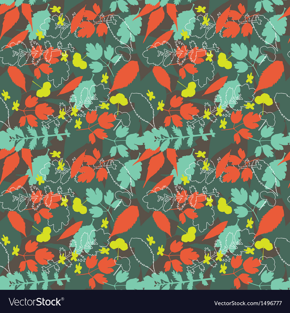 Natural seamless background vector image