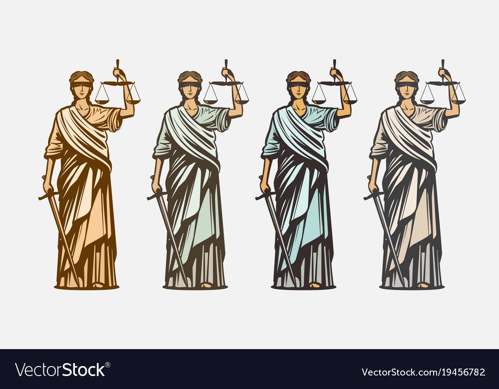 Lawsuit judge symbol lady justice judgment