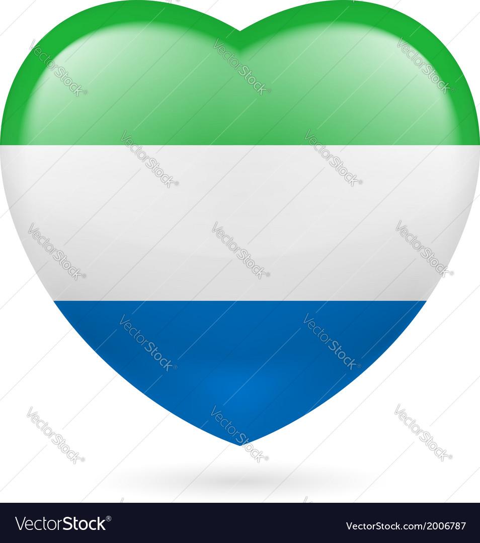 Heart icon of Sierra Leone