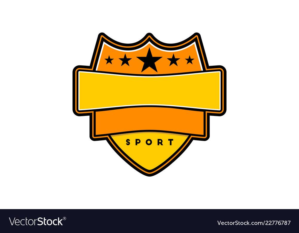 Sport badge template logo designs inspiration