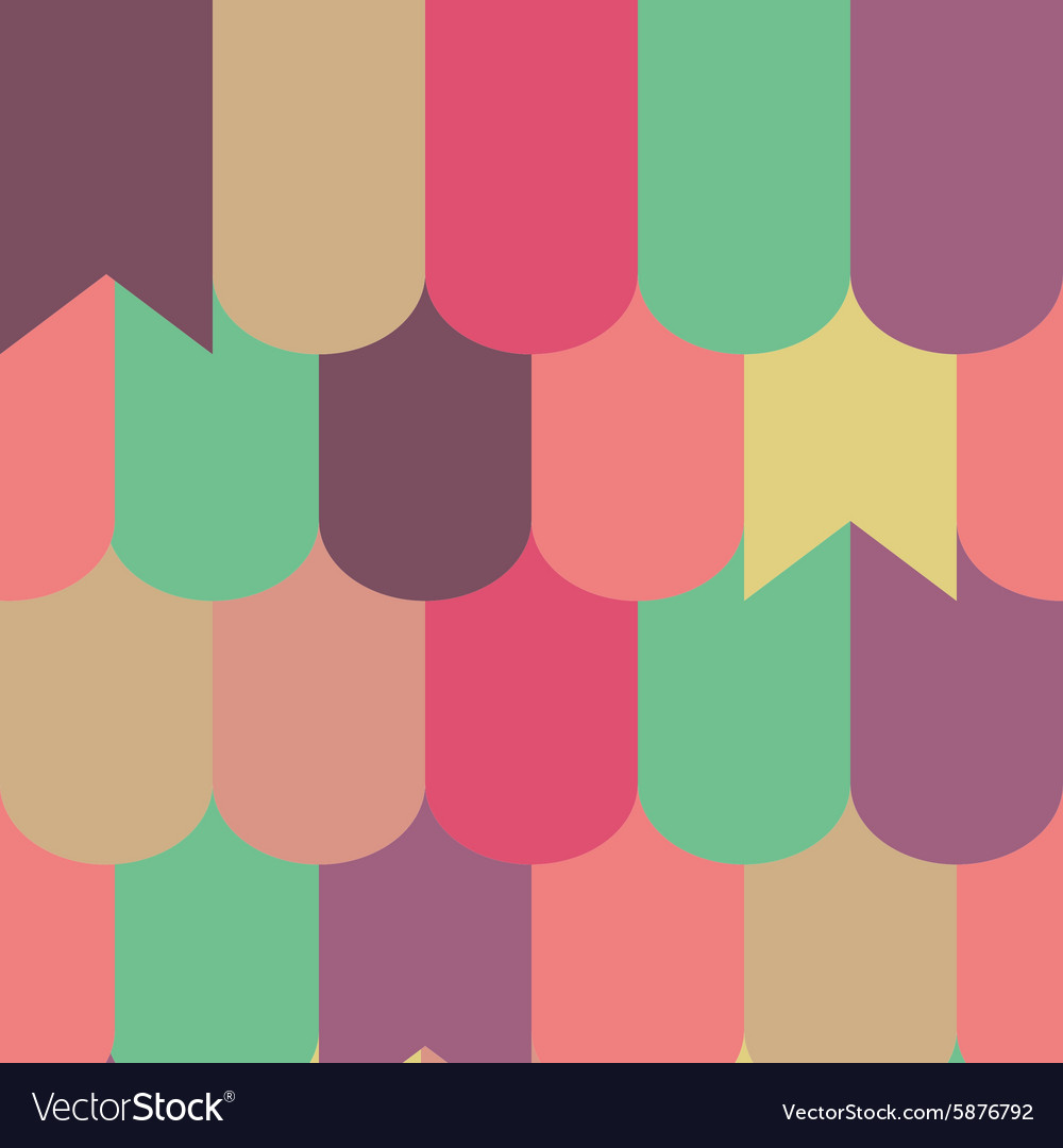 Japan-style Wave Seamless Pattern vector image