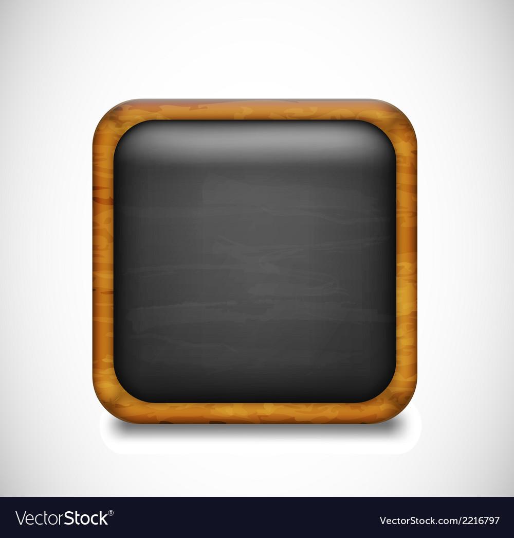 Black app icon