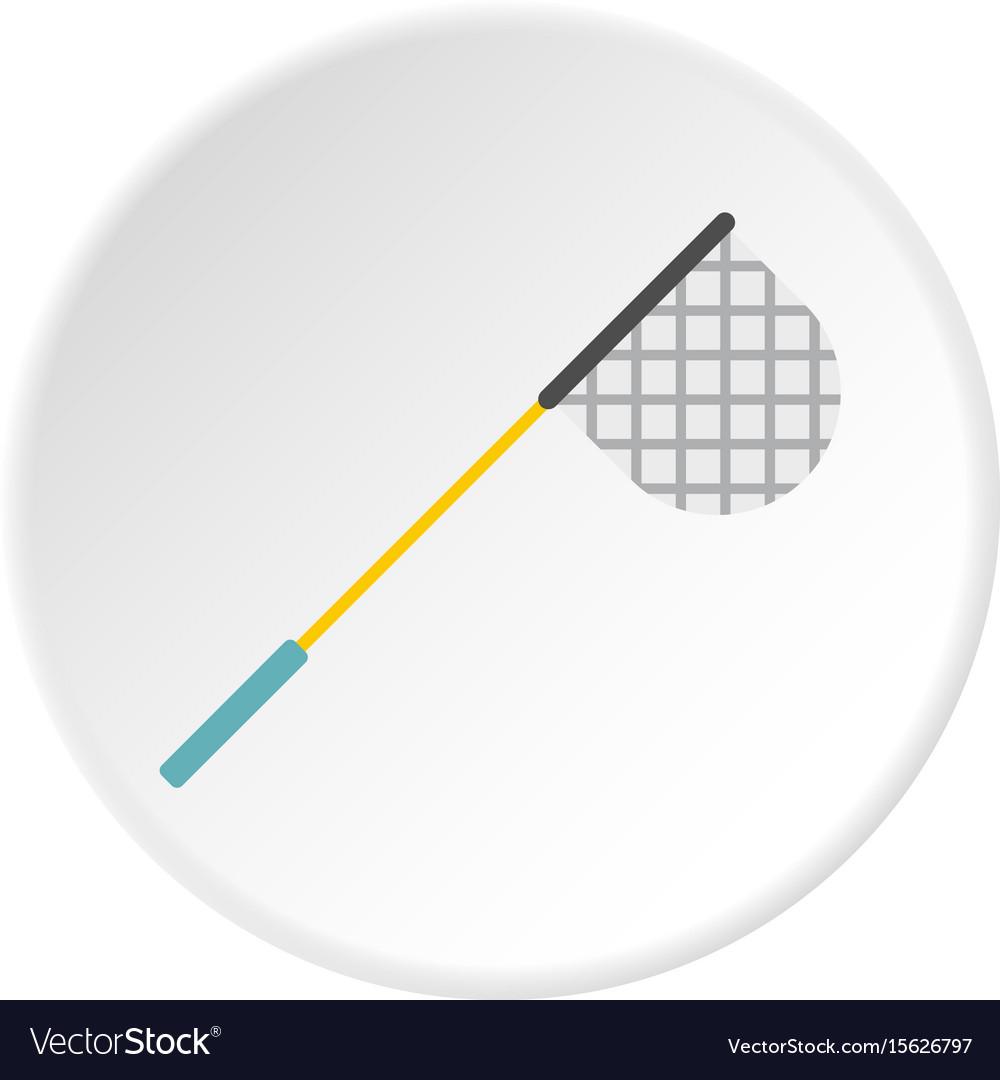 Fishing net icon circle