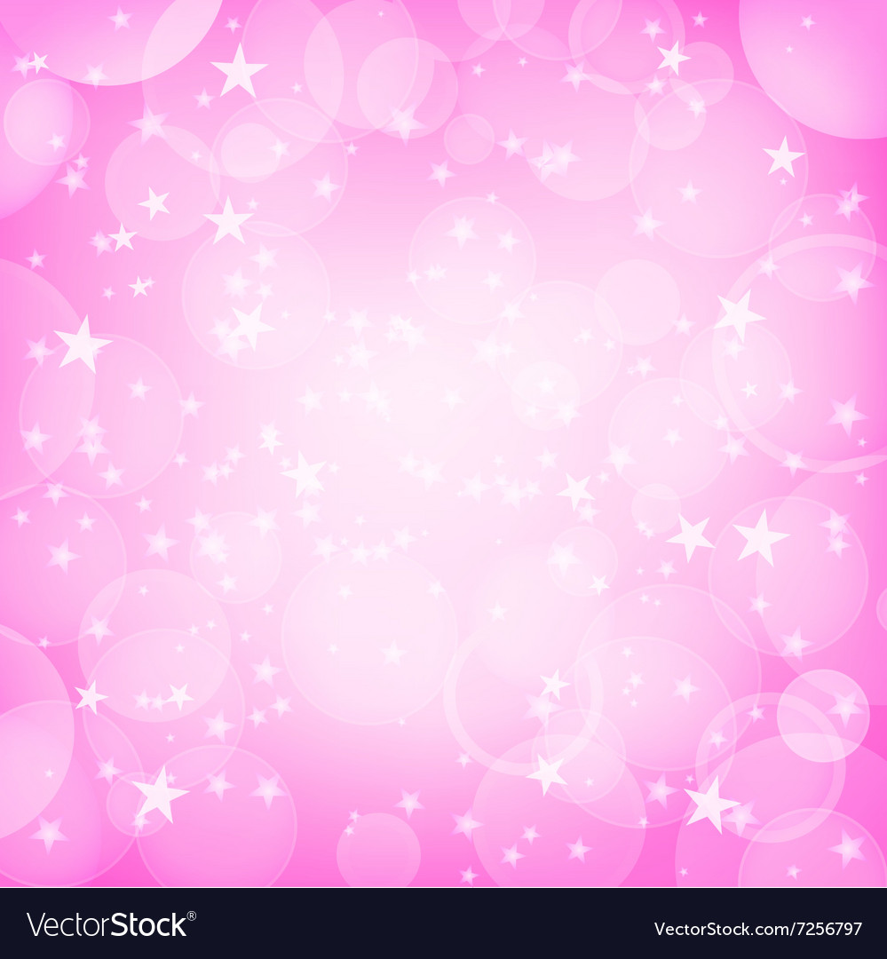 Shining pink background vector image