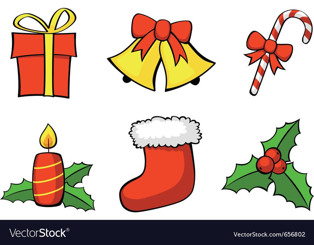 Symbols Of Christmas.Christmas Symbols