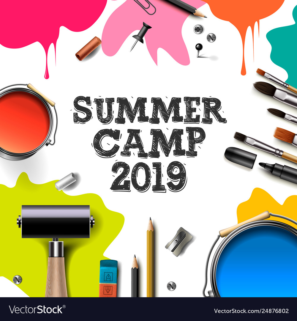 Kids summer camp 2019 education creativity art