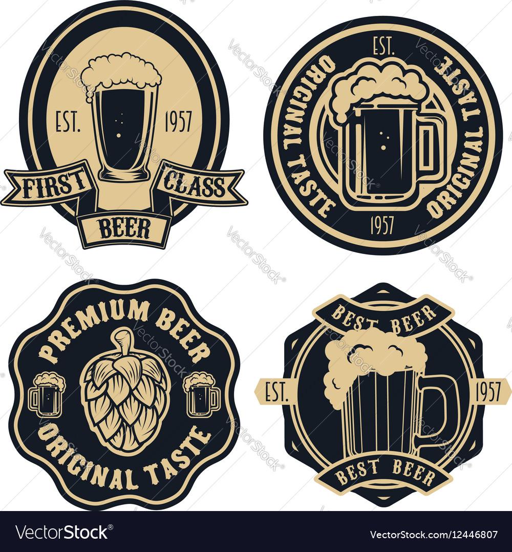 Vintage Beer Vector