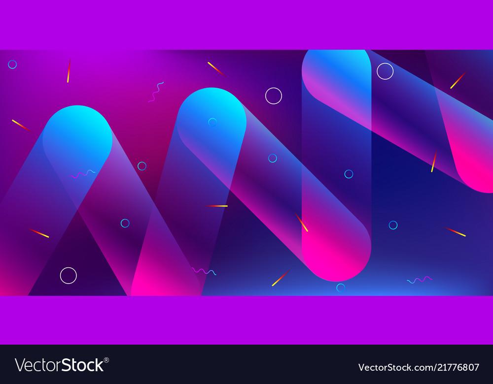 Color background design fluid gradient shapes