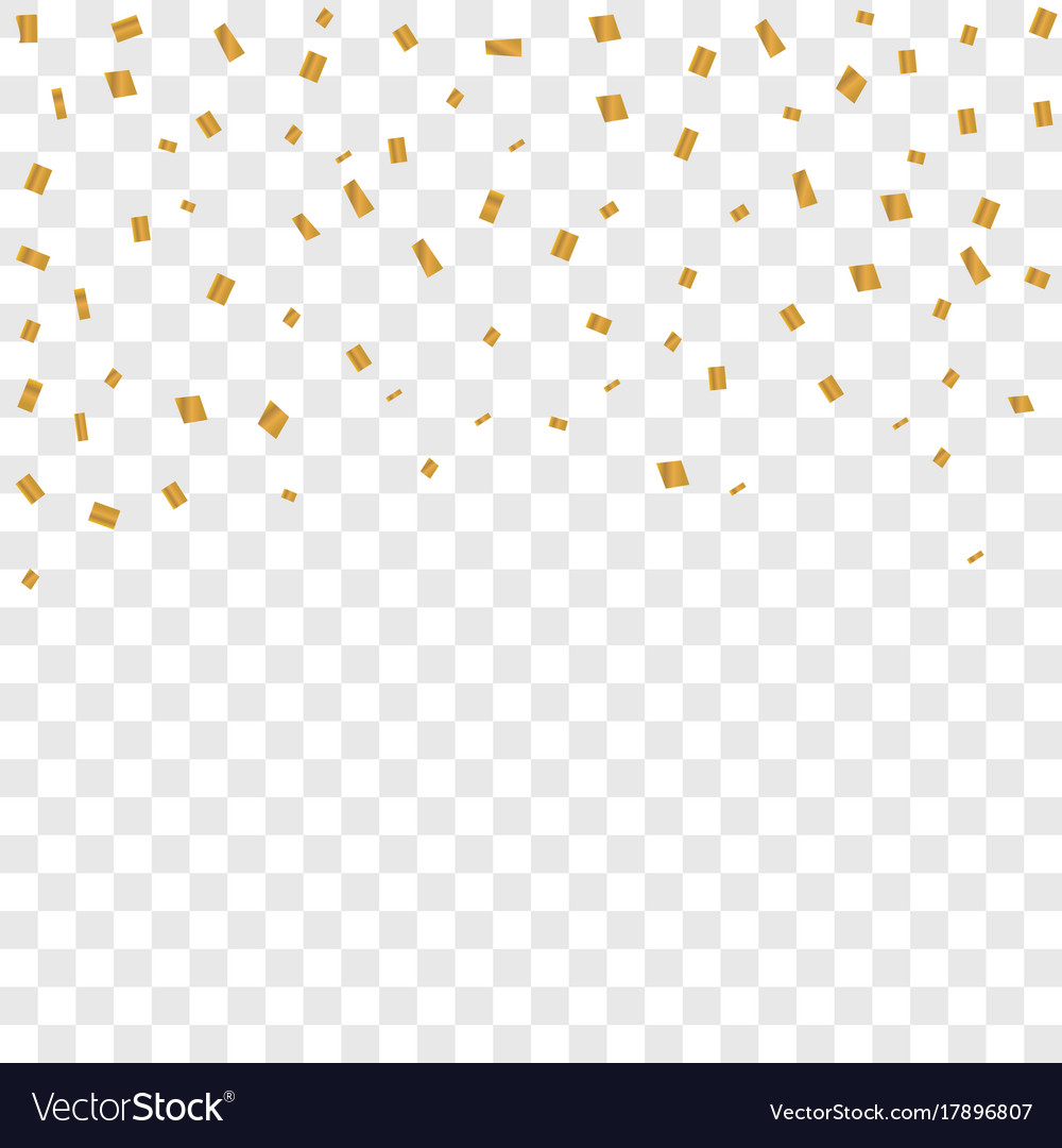 Confetti On Transparent Background Royalty Free Vector Image We've worked hard to create transparent png overlays with a neutral design style. vectorstock