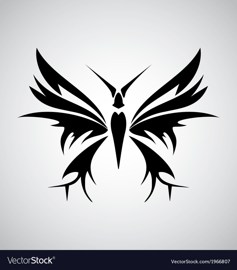 tribal butterfly tattoos - HD950×1080