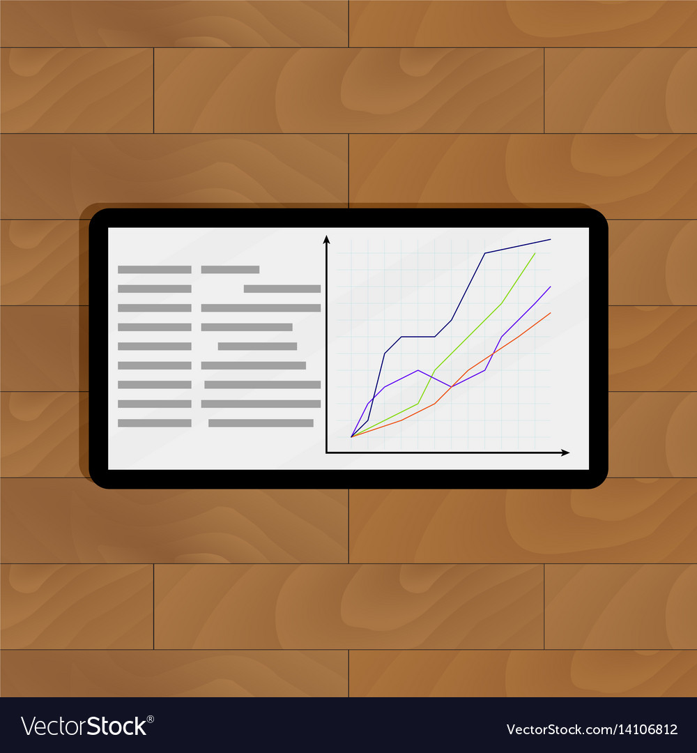 Curve line graphic