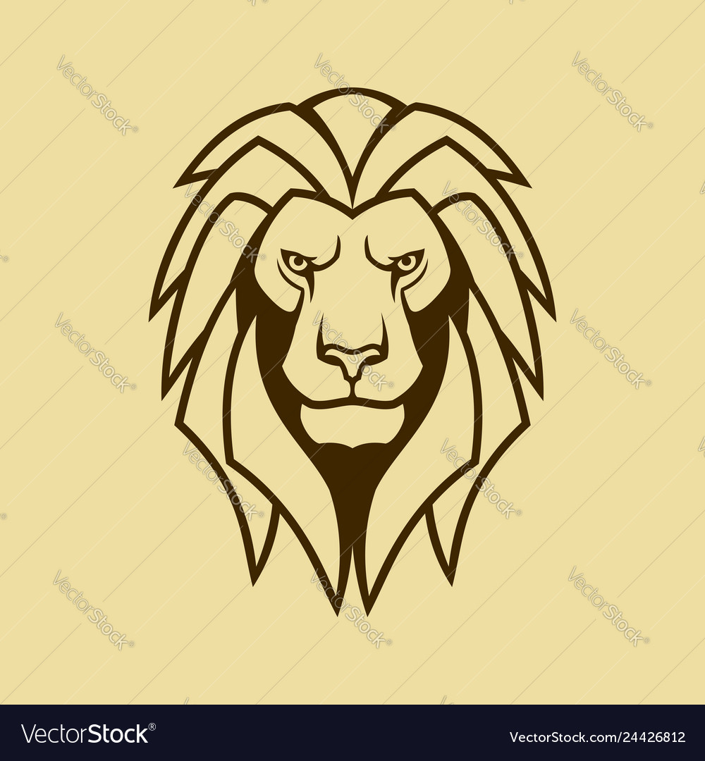Lion Icon Lion Head Outline Silhouette Royalty Free Vector Here presented 48+ lion face outline drawing images for free to download, print or share. lion icon lion head outline silhouette royalty free vector