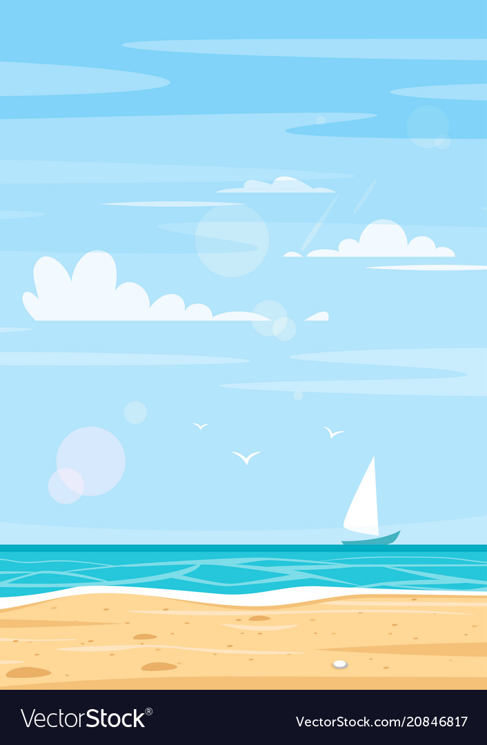 Background of sea shore
