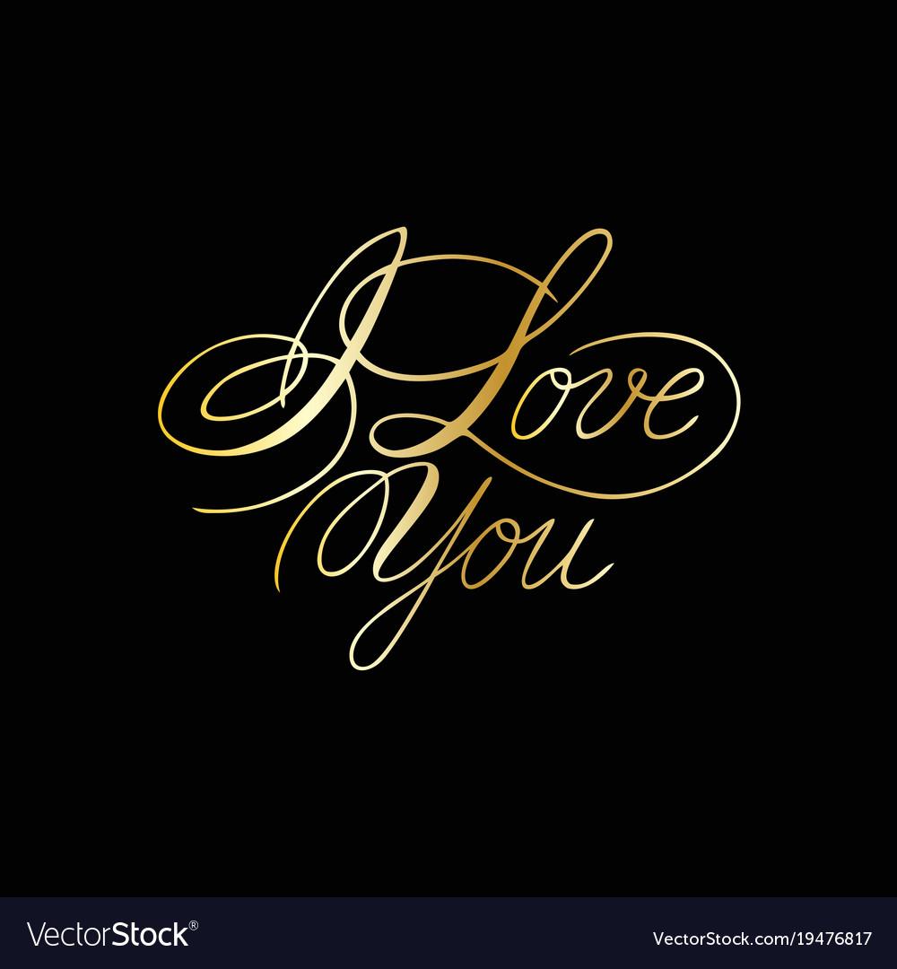 Download Cursive Love You