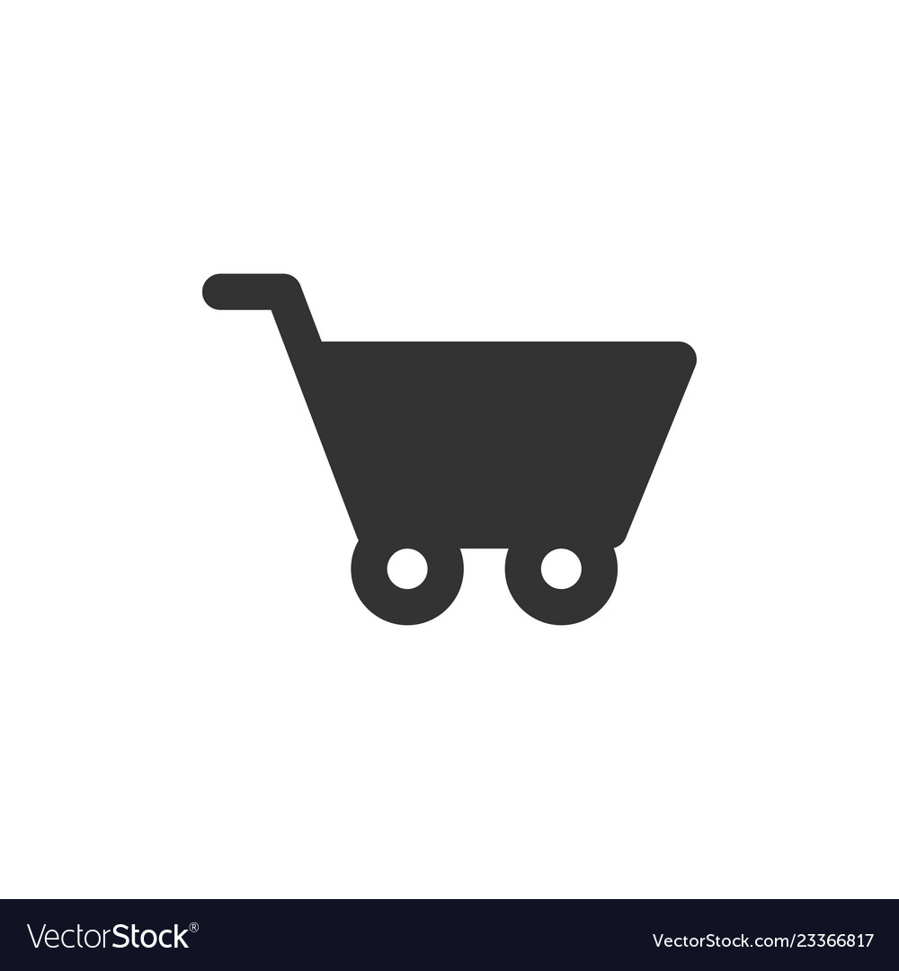 Shopping cart graphic icon design template