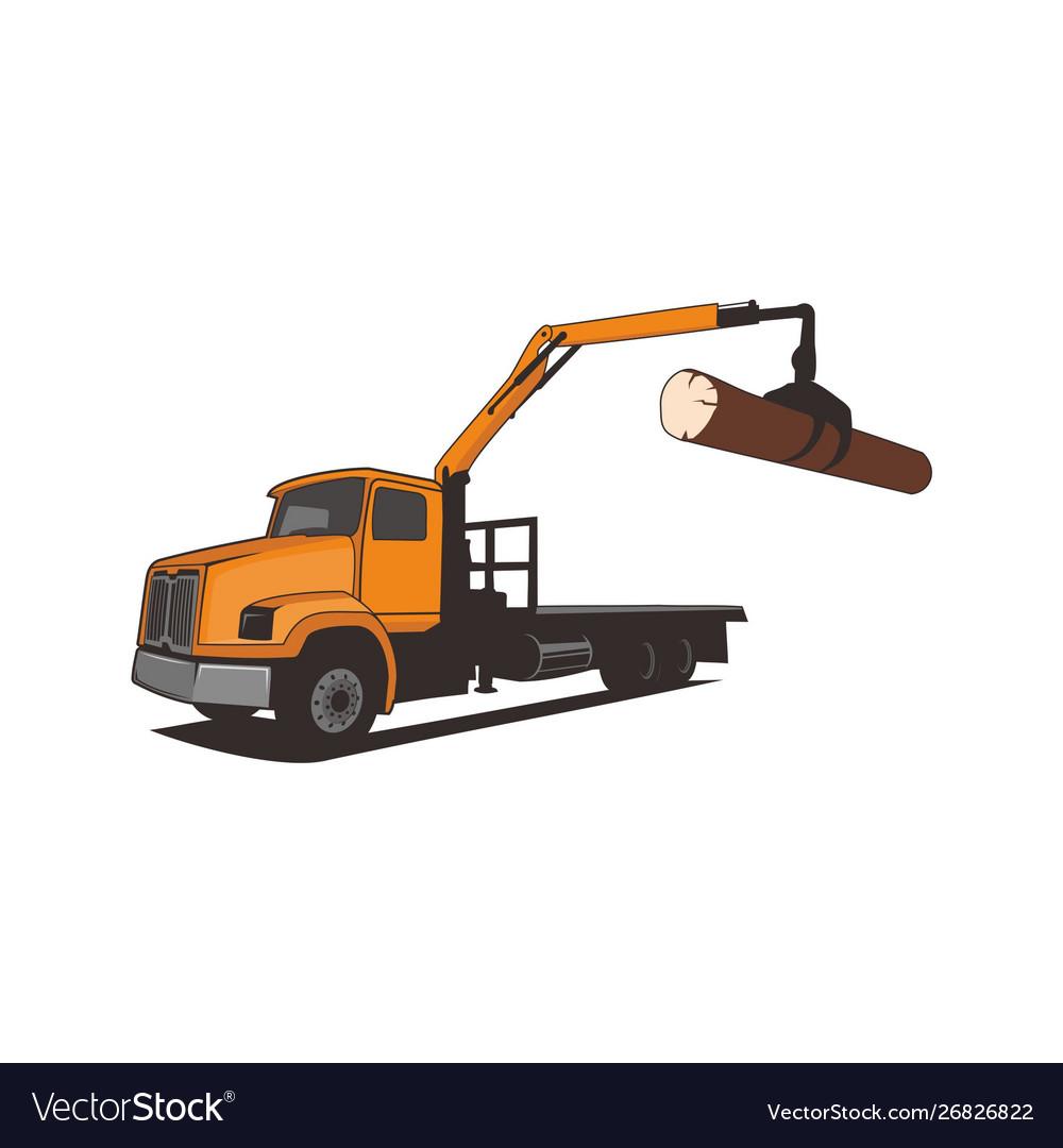 Truck crane tree