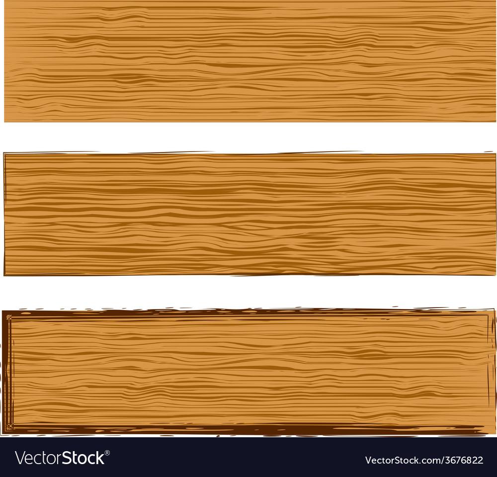 wood planks royalty free vector image vectorstock