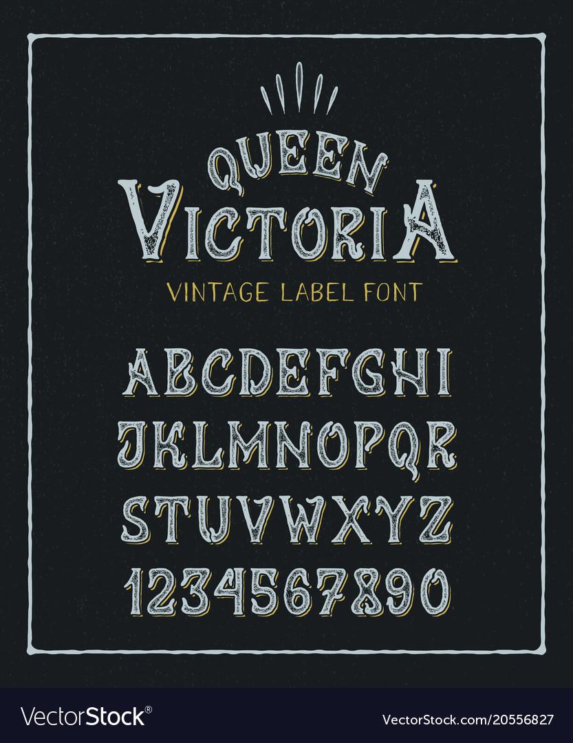 Font queen victoria