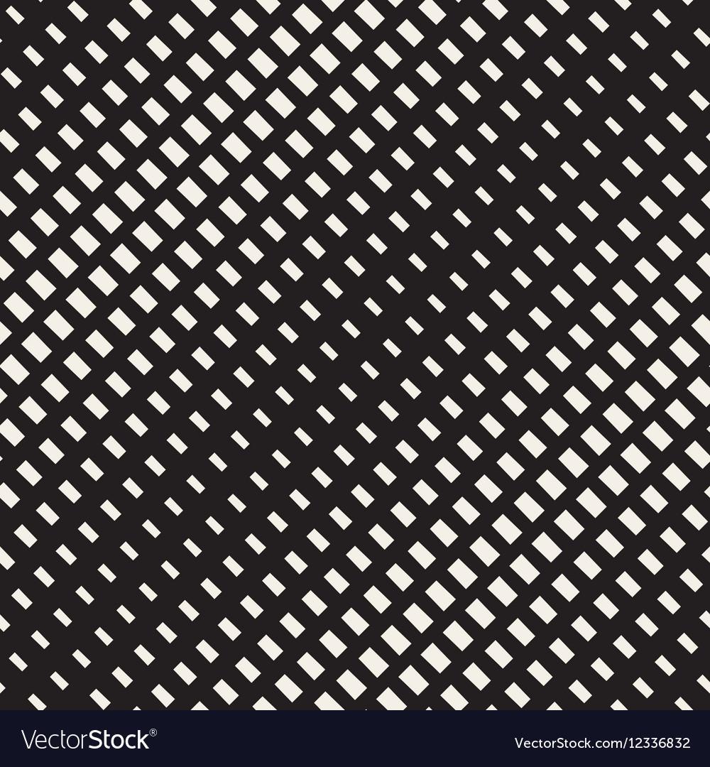 Seamless Black And White Diagonal Rectangle