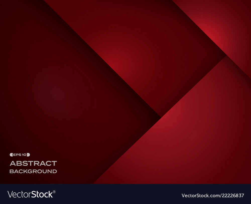 Abstract of gradient red background