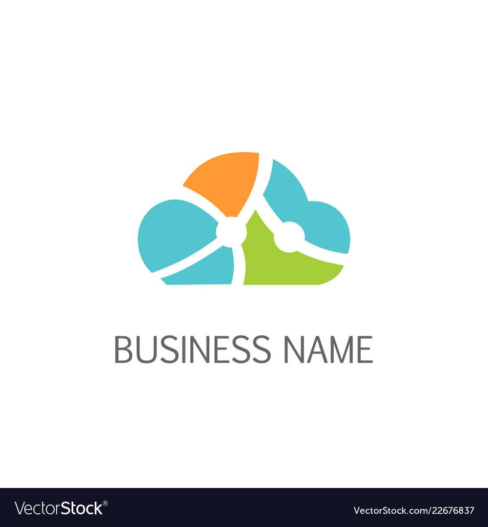 Cloud technology logo