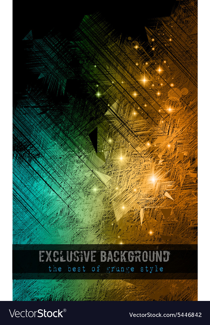 Abstract background for business card