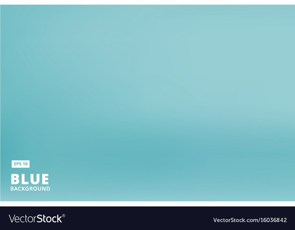 Empty gradient pastel blue studio room background vector image