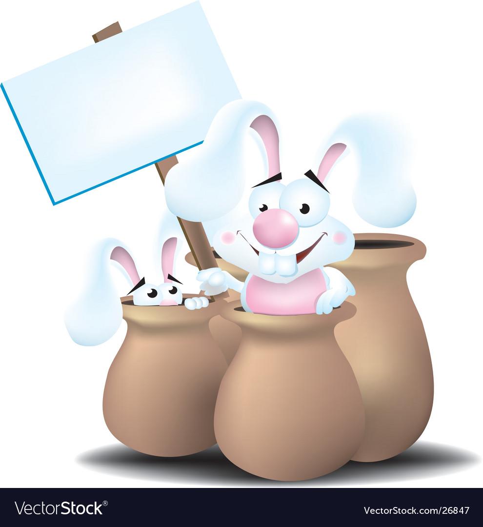 Bunnies in jars