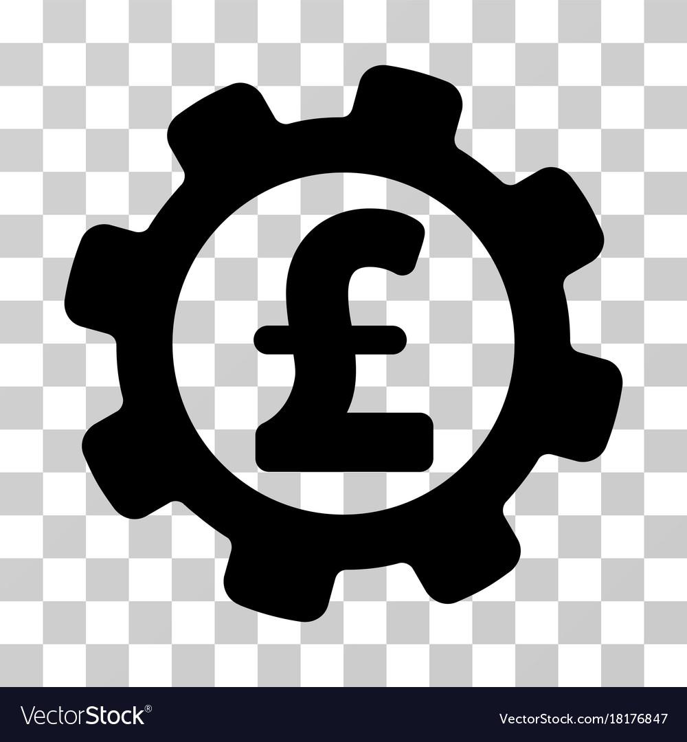 Development Pound Price Icon Vector Image