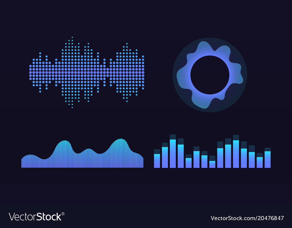 Wave of sound virtual graphic equalizer