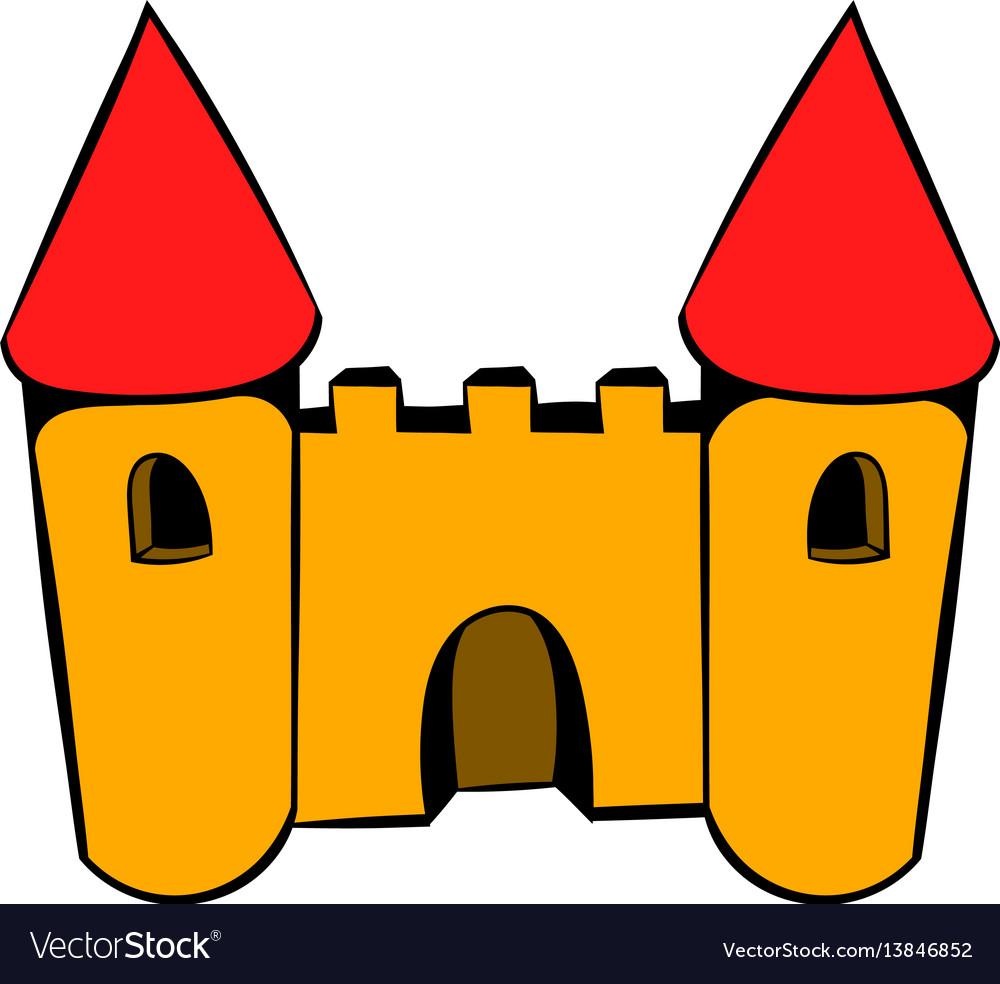 Castle icon icon cartoon