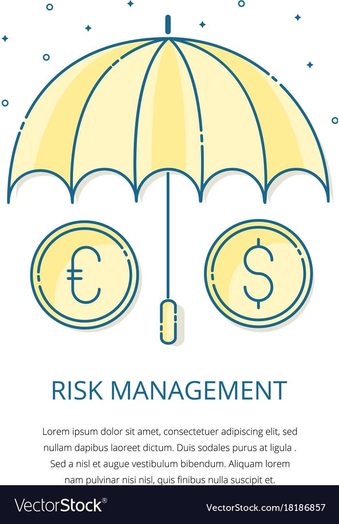 Risk management logo