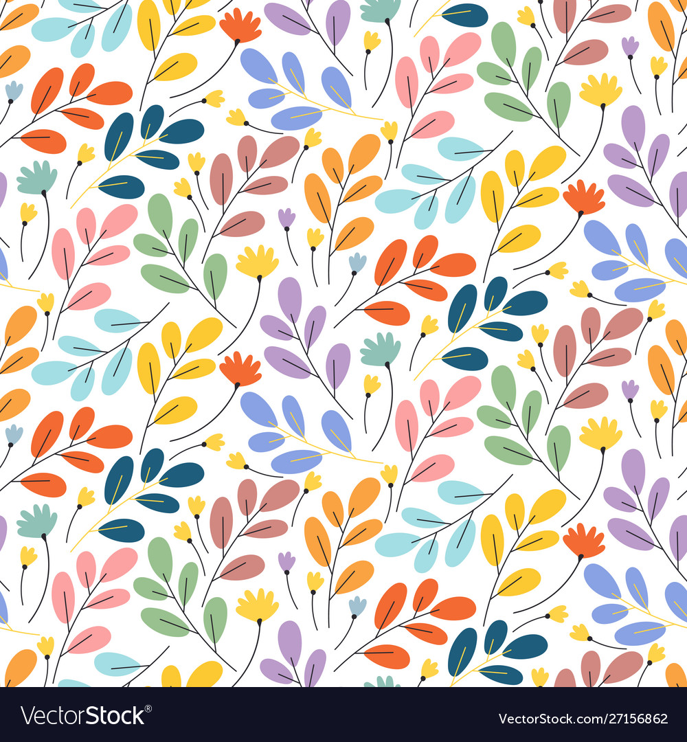 Bright exotic flower pattern perfect for desktop