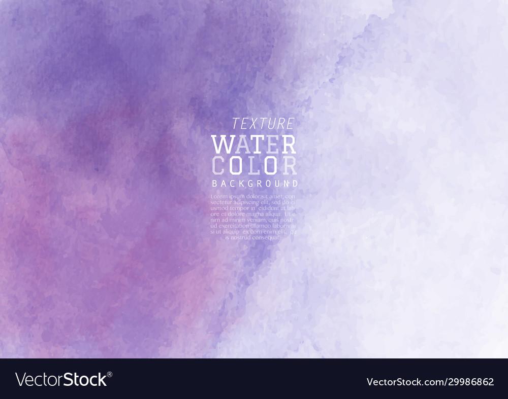 Purple liquid stain watercolor background