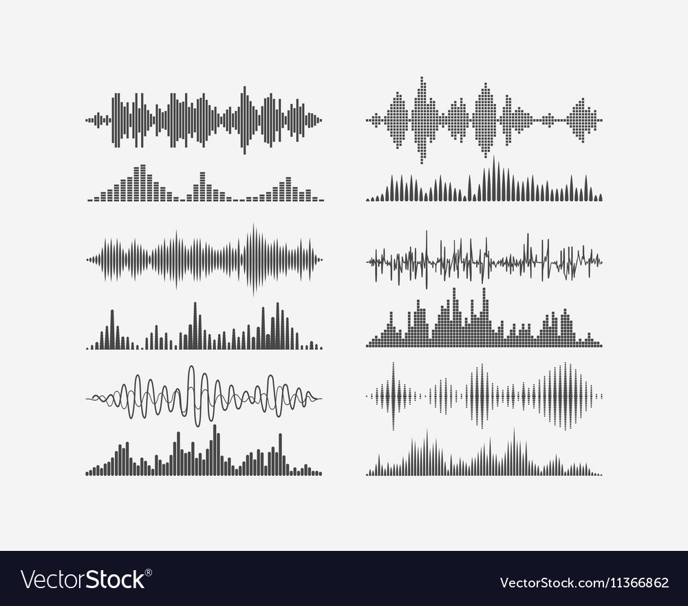 Radio frequency digital waves forms