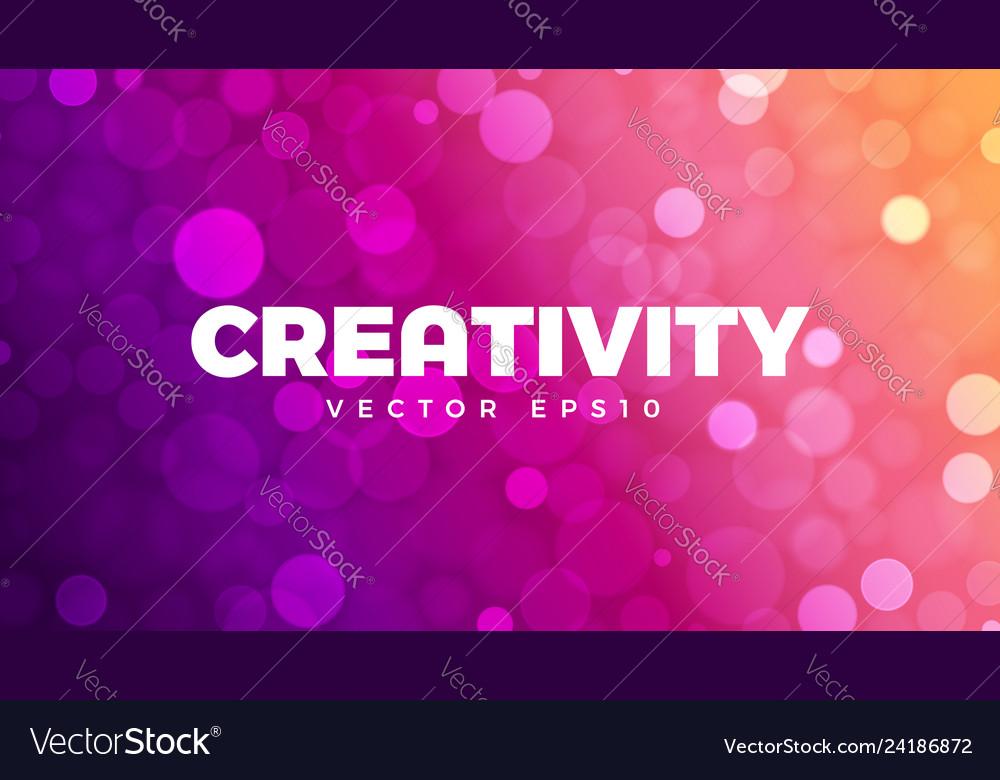 Abstract bokeh background multicolor defocused